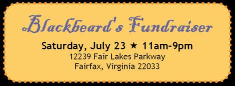 Blackbeard Fundraiser Ad