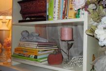 Cinderella objects on shelf