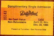 Dollywood Ticket