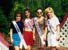 Ms. VA, MD, MA, NH pageant contestants