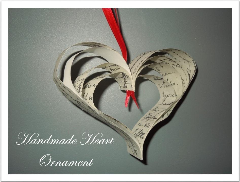 Handmade Heart Ornament