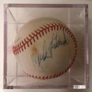 Mark Fidrych Autograph
