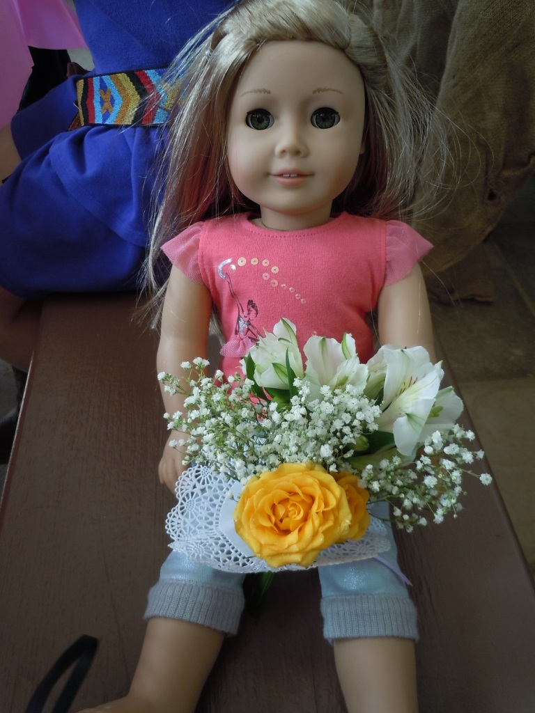 American Girl Isabelle & Her Posy