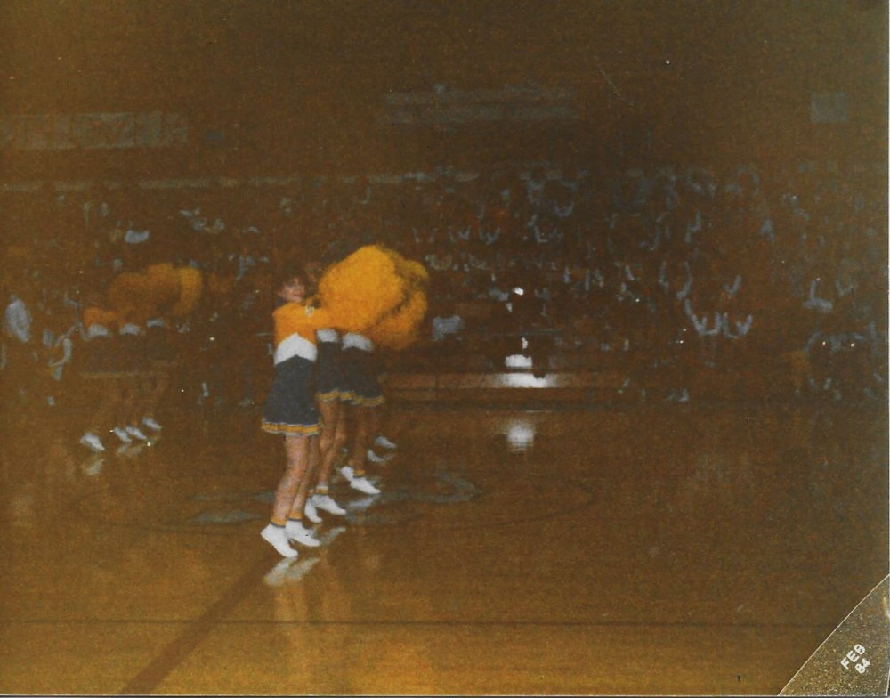 Cath, Drill Team Performance, February 1984