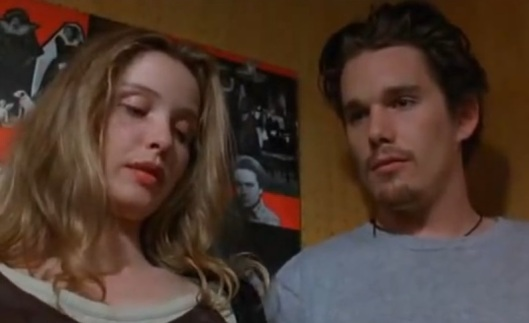 Celine & Jesse in Before Sunrise