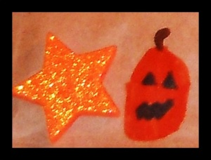 Star and Jack-o-lantern