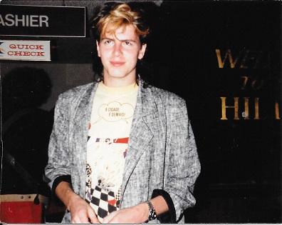 John Taylor, Hilton, March 1984sm