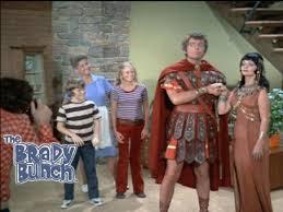 Mike & Carol Brady as Marc Anthony & Cleopatra