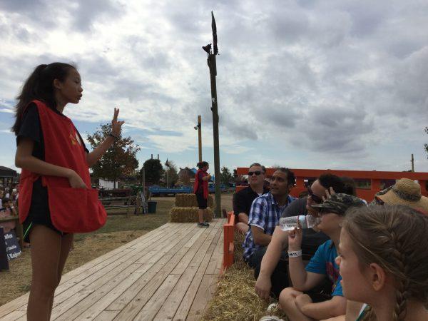 Festival - Hay Ride Prep